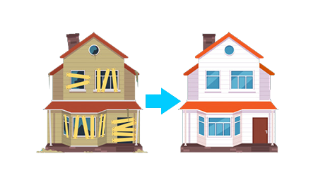 home-renovation-house-before-after-repair-new-old-suburban-cottage-isolated-illustration_53562-8239